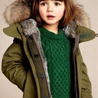 欧美潮宝演绎时尚儿童毛衣