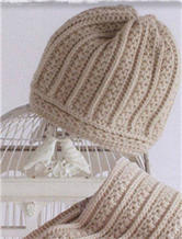 钩针编织男士羊绒帽子