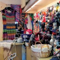 威尼斯水城里的意大利毛线店