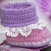 宝宝婴儿鞋的编织方法 鞋帮的钩织