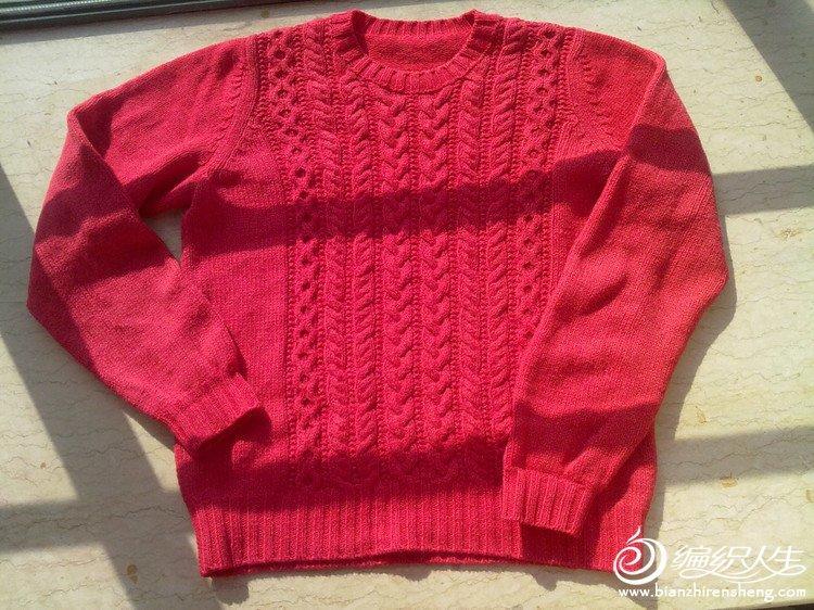 西红羊毛羊绒毛衣的编织