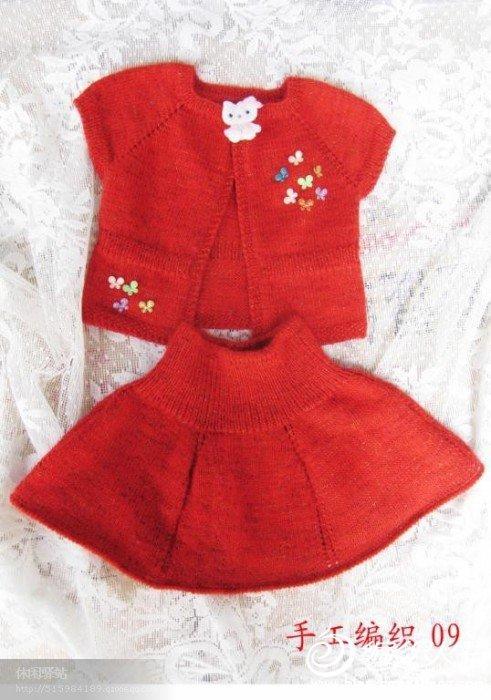 儿童毛衣编织花样5000 女孩毛衣款式图第1-100款