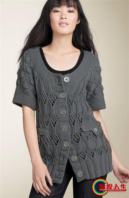 女士毛衣款式图_女士毛衣款式5000款 最靓的款式之第1-100款-编织教程-编织人生