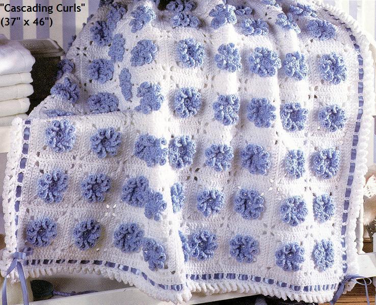 钩针毛线毯子 多图-编织人生