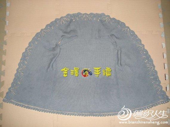 独特织法的毛衣 花边围绕-编织教程-编织人生