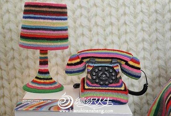 英国设计师用5公斤毛线编织童话小屋