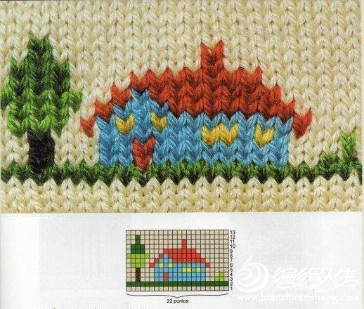 新款儿童毛衣图案_儿童毛衣小白兔图案