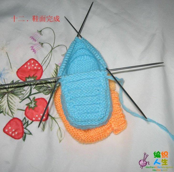钩帽子视频_毛线靴子的编织 有图文教程-编织教程-编织人生