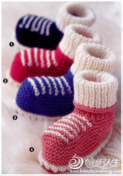 超多的毛线钩织宝宝鞋图片款式图片