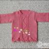 粉色之爱外套婵 合适1岁到1岁半宝宝穿