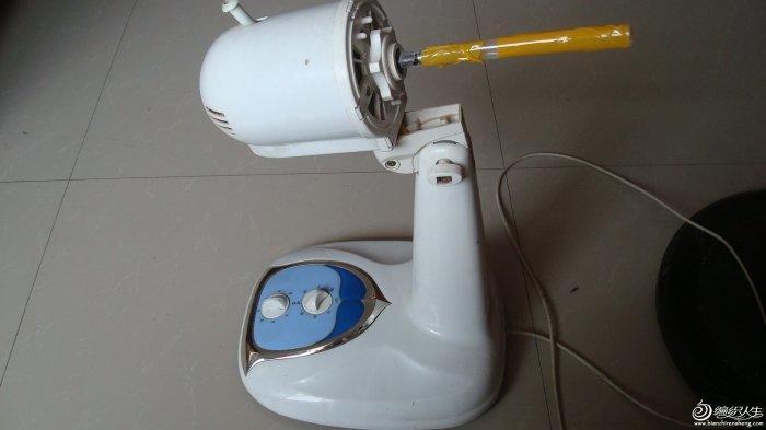 电风扇的妙用 自制电动绕线机 - www.cd-ksjd.com