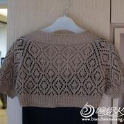 eva's蕾絲系列part1~披肩式短袖小外套by eva