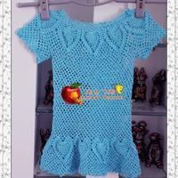老少皆宜的经典MK KLEIN渔网菠萝裙衣 首发详细图解