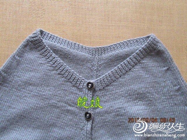 开衫蝙蝠衫 毛线编织女士长袖毛衣外套款式教程