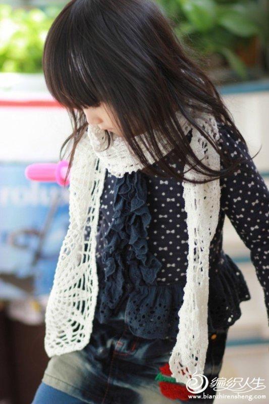 毛线编织绵羊包包和小围巾 有图解真人秀