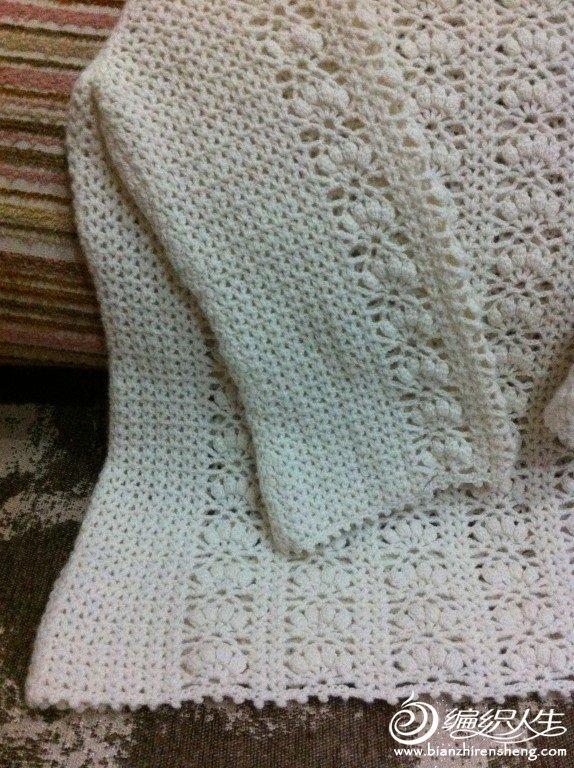 钩衣 女士长袖镂空圆领毛衣款式图解