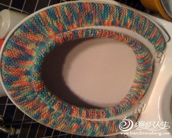 毛线编织标准马桶垫织法教程