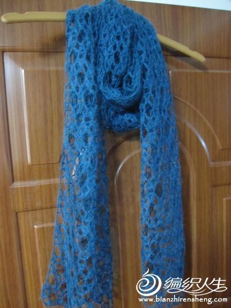 钩针编织围巾款式图解
