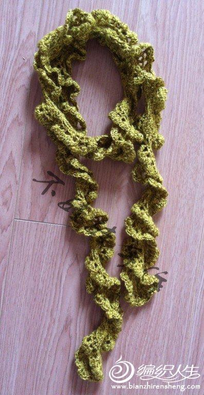 简单实用围巾,好钩、漂亮,别犹豫了,也来一条吧