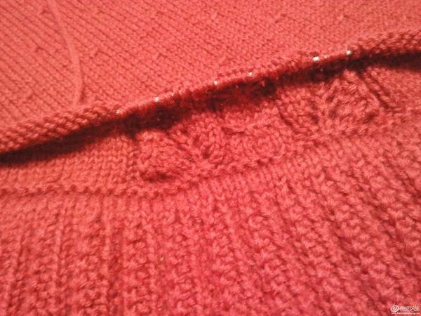 毛线编织女士长袖套头毛衣款式图解教程
