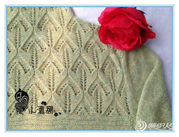 毛线编织女士长袖堆领毛衣枯绿