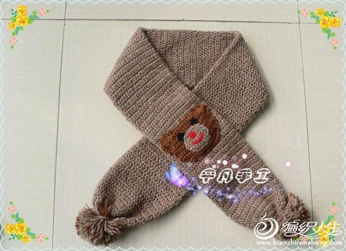女士套头毛衣款式_小熊护耳帽+小熊围巾详细编织过程 超可爱哟-编织教程-编织人生