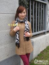 麻花修身衫西子 大气唯美显瘦女生毛衣款式图片及编织教程