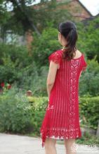 毛线球精美钩裙娉婷 适合夏季穿的女士毛衣款式图解