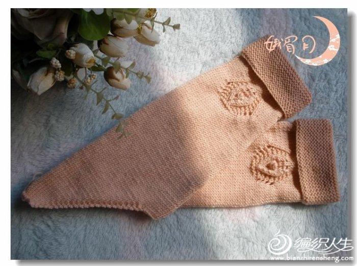 可爱云宝宝毛线编织的适合1-3岁儿童套头毛衣云娇 娥眉月作品