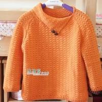橙实 儿童钩针毛衣编织教程