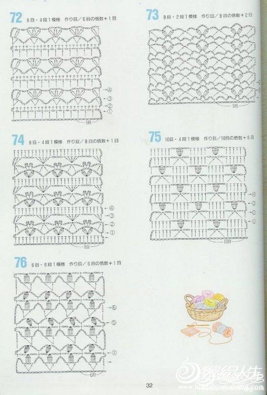 Free Cool Crochet Japanese Patterns Traitoro For