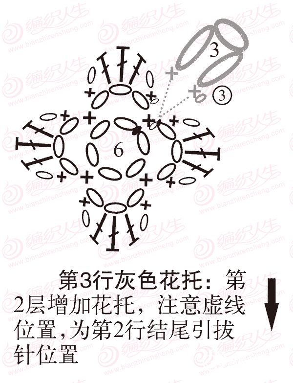 单元花旋转增加花瓣步骤图解5