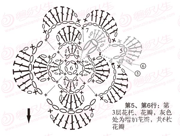 单元花旋转增加花瓣步骤图解7