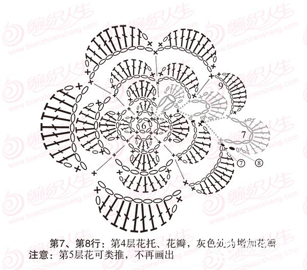 单元花旋转增加花瓣步骤图解8