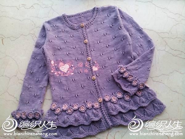 13款儿童棒针毛衣编织教程