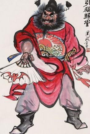 在中国的道教中,认为桃木有辟邪的作用,再画上些许任何人也看不懂的