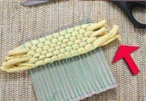 轮胎剪切画_杯垫隔热垫DIY编织教程-编织人生