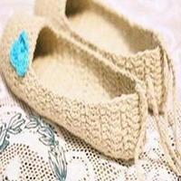 小蓝花地毯鞋制作详细图文教程