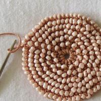 创意编织教程 钩编及米珠制作精美饰物