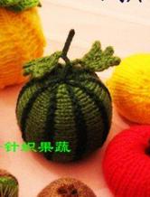针织果蔬之棒针西瓜详细编织教程