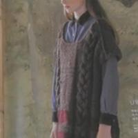 女士棒针毛衣 滑肩连衣裙视频教程