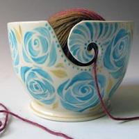 甜蜜编织周边 毛线碗与编织蛋糕