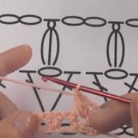 变形的枣形针 钩针基础针法视频教程