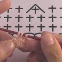 2针短针并1针 短针减针 钩针基础针法视频教程