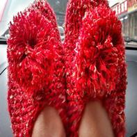 时尚简单软拖鞋编织教程 美丽无底线 放松你的双脚