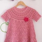 宝宝毛衣编织视频 5-6岁女童短袖葱衣图解与视频讲解