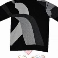 时尚男士四色毛衣棒针毛衣编织教程