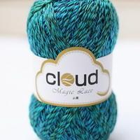 云蕾 长段染渐变羊毛蕾丝线 云系毛线 品牌毛线