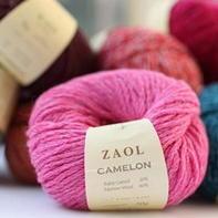 ZAOL Camelon幼驼绒澳毛混纺毛线 韩国进口品牌毛线