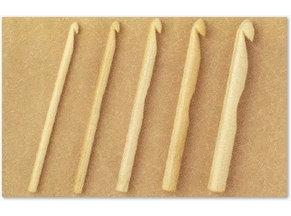 日本和麻納卡HAMANAKA竹制單頭鉤針